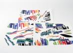 Durafly ™ Hyperbipe 900 millimetri - Sostituzione Acqua Sticker Set