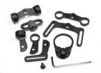 Elemento EX247 Multi Function kit di parte girevole dell'imbracatura per M4 GBB (Nero)