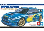 Kit Tamiya 1/24 Scala Impreza WRC Monte Carlo 05 Plastic Modello