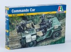 Kit Italeri 1/35 Scala Commando Car Modello di plastica