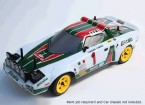 Rally Legends 1/10 Lancia Stratos Unpainted auto Shell Corpo w / decalcomanie