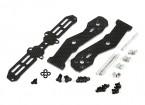 Tarocchi metà anteriore in carbonio braccio 2,5 mm per TL250H metà in fibra di carbonio multi-rotori