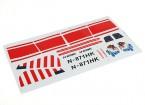 Dipartimento Funzione Pubblica Sala Cherokee Glider 1.700 millimetri - Sticker Set