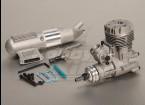 Asp S52A Two Stroke Motore di incandescenza w / Remote HS valvola a spillo