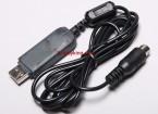Hobby King 2.4Ghz 6Ch Tx cavo USB