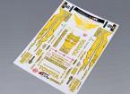 Auto Sticker Foglio Adesivo - Toyota Drift 1/10 Scala