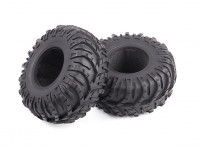 1/10 Scale Dissected Chevron Beadlock Crawler Tyres Soft Compound with Foam Inserts (2pcs)