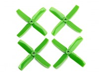 Dalprop Q4040 Bull Nose 4 Blade Propellers CW/CCW Set Green (2 pairs)