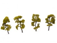 HobbyKing Model Railway Scale Trees 100mm (4 pcs)