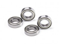 Ball Bearing Metal Shielded 8x16x4mm (4pcs)