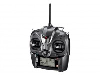 JR XG6 6-Channel 2.4GHz DMSS Transmitter w/Telemetry & RG613BX Receiver (Mode 1)