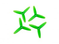 Gemfan Bullnose policarbonato 3035 3 elica a lame Verde (CW / CCW) (2 coppie)