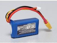 Turnigy 800mAh 2S 30C Lipo Confezione