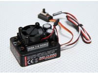 Turnigy 160A 1: 8 Scala sensorless ESC w / Fan