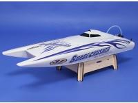 Super sovratensioni Crusher 90A Twin-Hull Brushless R / C barca (730 millimetri) (ARR)