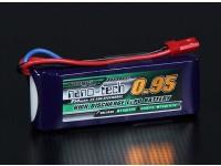 Turnigy nano-tech 950mAh 2S 25 ~ 50C Lipo Confezione