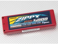 ZIPPY 4000mAh 2S1P 25C auto Lipoly (ROAR APPROVATO) (DE Warehouse)