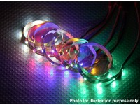 Striscia LED con JST 200 millimetri connettore (verde)