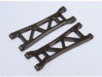 Sospensione Arm Set L / R posteriori (2pcs / bag) - 1/10 Brushless 2WD le corse nel deserto Buggy - A2032 e A2033