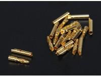 2mm oro connettori 10 paia (20pc)