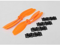 8045 SF puntelli 2pc CW 2 pc CCW rotazione (arancione)