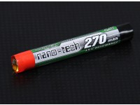 Turnigy nano-tech 270mAH cellulare 1S 15C rotonda