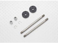 Fronte Shock Shaft & Pistone Set - 1/10 Quanum Vandal 4WD corsa Buggy (2sets)