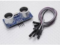 Ultrasonica del modulo HC-SR04 Kingduino