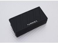 Turnigy morbido silicone Lipo Batteria Protector (1000-1300mAh 3S Nero) 74x36x21mm