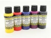 Vallejo Premium colore vernice acrilica - Candy Selezione colore (5 x 60 ml)