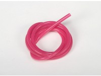 Heavy Duty silicone Fuel tubo Rosa (Nitro) (1 mtr)