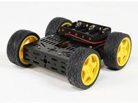 DG012-BV (versione base) Kit 4WD Multi telaio con quattro ruote in gomma