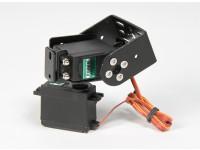Kit Heavy Duty Pan e Tilt di base con 160deg Servi Robotic arto o l'antenna di monitoraggio (Short Arm)
