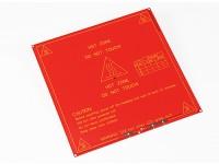 Hot Plate stampante 3D MK2B Dual Power RepRap Mendel e rampe compatibili