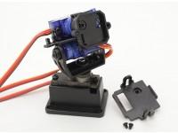 Fatshark 3-Axis Pan Tilt e Rullino fotografico Mount System (supportata da Trinity testa Tracker)