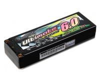 Turnigy nano-tech ultima 6000mAh 2S2P 90C Hardcase Lipo Pack (ROAR e BRCA approvato)