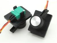 FrSky 2.4GHz ACCST TARANIS X9D trasmettitore telemetria digitale cursore laterale di sostituzione (2 pezzi)