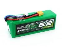 Multistar ad alta capacità 6S 5200mAh multi-rotore Lipo pack
