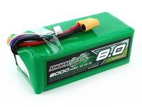 Multistar ad alta capacità 6S 8000mAh multi-rotore Lipo pack