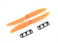 Gemfan Elica 5x3 arancione (CW / CCW) (2 pezzi)