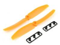 Gemfan Elica 5x4 arancione (CW / CCW) (2 pezzi)