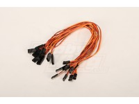 30CM Servo Extention piombo (JR) 26 AWG (10pcs / bag)