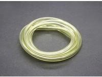tubo del carburante in silicone (1 mtr) 6x3mm Yellow (Nitro & Gas Motori)