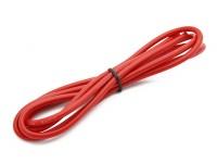 Turnigy alta qualità 14AWG silicone Filo 1m (Red)