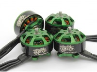 Multistar Elite 2306-2150KV 'MINI MONSTER' Quad Racing (set di 4 CW / CCW)