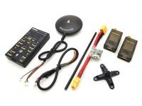 Veicolo autonomo HKPilot32 32Bit Control Set con Telemetria e GPS (433 Mhz)