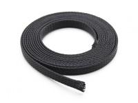 Protezione conduttore maglia nera 6mm (2m)
