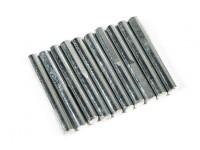 Ritrarre Pins per Main Gear 4mm (10 pc per sacchetto)