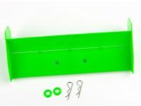 ala posteriore (verde)