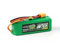 Multistar LiHV ad alta capacità 3000mAh 3S multi-rotore Lipo pack